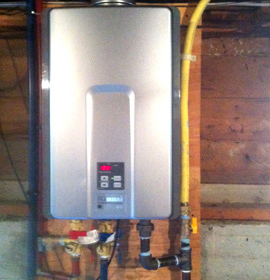 hot water tank installer North vancouver